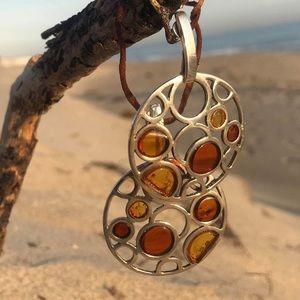 Jewelry - Baltic amber earrings